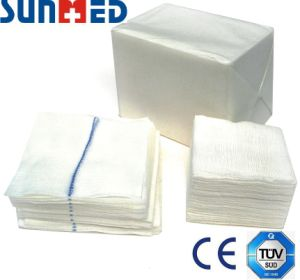 Cotton Gauze Swab pictures & photos