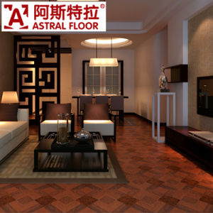 Fashion Style 12mm Waterproof Parquet Laminate Flooring pictures & photos