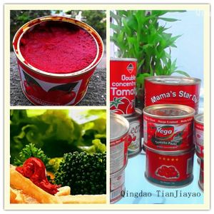 Double Concentrate Tomato Paste in Brix 28-30%