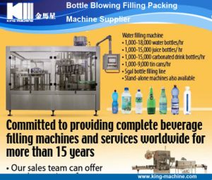 Carbonated, Juice, Water Bottle Filling Machine From King Machine pictures & photos