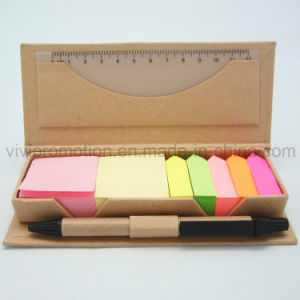 Custom Sticky Note Pad with Pen for Promotion, Memo Pad (GN026) pictures & photos