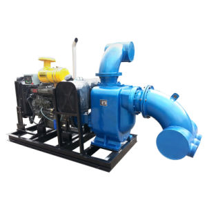 Diesel Engine Self-Priming Trash Water Pump pictures & photos