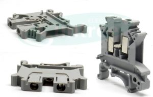 UK Universal DIN Rail Terminal Block PCB Terminal Block pictures & photos