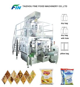 Automatic Pre-Made Bag Flour Weighing and Filling Packing Machine pictures & photos