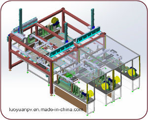 Automatic Bussing Station/Manual Welding Bussing