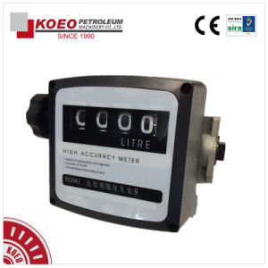 4 Digit Mechanical Fuel Flow Meter
