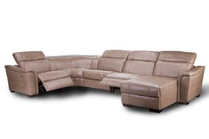 Comfortable Sectional Recliner Sofa Transitional Designed for Living Room pictures & photos