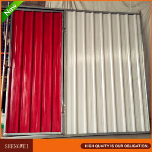 Corrugated Steel Fence Panel with Gate pictures & photos