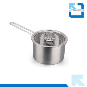 High Quality 304 Stainless Steel Milk/Soup Pot and Pot Set pictures & photos