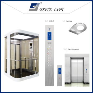 Observation Lift Home Elevator with Good Quality Glass Sightseeing