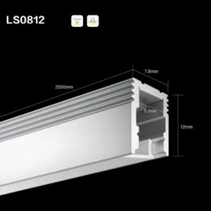 Ls0812 Line LED Panel Light Aluminium Profile Waterproof Extrusion pictures & photos