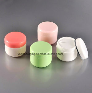 50g Plastic Cosmetic Jar pictures & photos