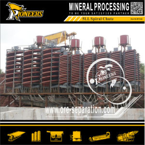 Gravity Ilmenite Mining Machine Equipment Spiral Chute for Gravity Concentration