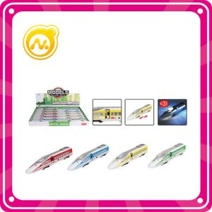 Alloy High -Speed Rail Toy Express Bus Child Railway Toy