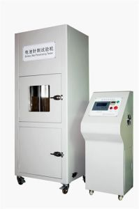 IEC 62133 Hydraulic Drive Battery Nail Puncture Testing Machine