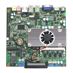 Fanless Mini Itx Motherboard with Core I5-5200u Processor and 4GB RAM pictures & photos