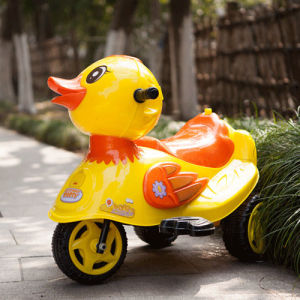 Electric Ride on Children′s Toy Car - Yellow Duck