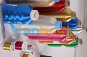 150d/1 Metallic Embroidery Thread pictures & photos