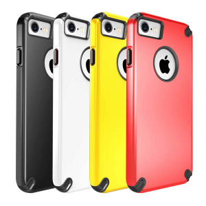 TPU Bumper with PC Back Anti Shock Cell Phone Case for iPhone 7/7 Plus