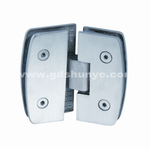 Stainless Steel Shower Door Hinge Bathroom Accessories Glass Door Hinge (SH-0220) pictures & photos