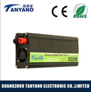 500W Power Inverter UPS with Battery Charger
