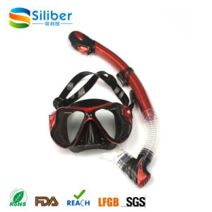2017 Hot Diving Mask and Snorkel Set Colorful Swimming Goggles for Adults and Kids