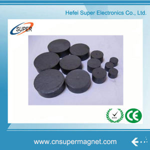 High Performance Strong Round Disc Shape Ferrite Magnet pictures & photos