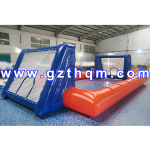 High Quality Inflatable Football Pitch/Commercial Inflatable Soccer Field pictures & photos