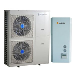 Heating + Cooling + Hot Water Three in One Split System Heat Pump