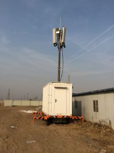 Microwave Communications Mobile Telecom Vehicle