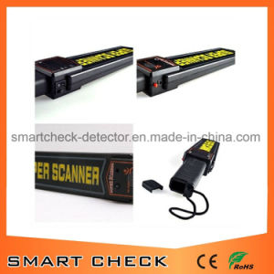 Portable Hand Held Metal Detector Body Scanner Detector with Rechargeable Battery pictures & photos