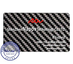 China 2017 new design real carbon fiber business name card with 2017 new design real carbon fiber business name card with personalized custom colourmoves