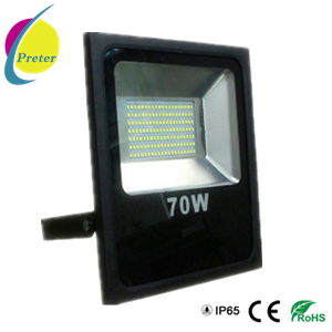 70W LED Flood Light with Slimline Housing for Outdoor Lighting pictures & photos
