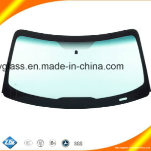 Car Glass Rear Windshield for Toyo Ta Hiace Rh200/Xyg pictures & photos