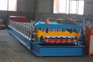 Steek Roof Tile Sheet Roll Forming Machine pictures & photos