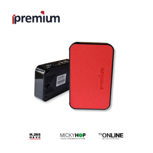 Ipremium Tvonline+ Mini Android Base TV Box with Leather Cover Mickyhop System and Stalker Middleware Support WiFi pictures & photos