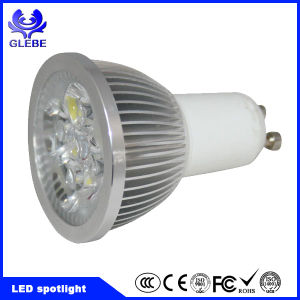 AC120V 230V Driverless 6W AC COB GU10 LED 2700k Dimmable LED Spot Light pictures & photos