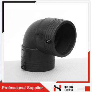 Plastic Electrofusion Manufacturers Elbow HDPE Pipe Coupling pictures & photos