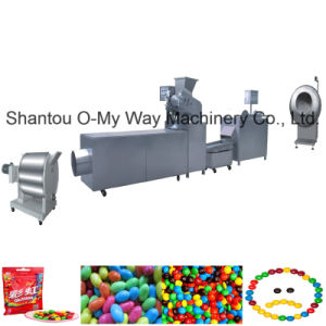 Factory Supply Candy Chocolate Bean Making Machine pictures & photos