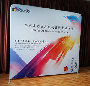 Custom Size Exhibition Booth Easy POPup Stand Portable Backdrop Banner