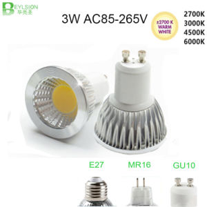 3W High Power GU10 MR16 E27 LED Spot Lamp pictures & photos