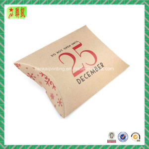 Pillow Shape Kraft Paper Bag for Gift Packaging pictures & photos