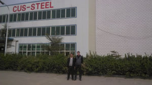 Prefabricated Warehouse / Steel Building Beam/Large Span Steel Structure pictures & photos