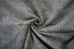 Twill Brown Flano Wool Fabric