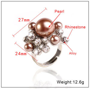 Fashion Jewelry Fashion Ring Pearl and Diamond Ring Costume Jewelry Open Ring 10 Colors Brige Ring  sc 1 st  Yiwu New Star Co. Limited & China Fashion Jewelry Fashion Ring Pearl and Diamond Ring Costume ...