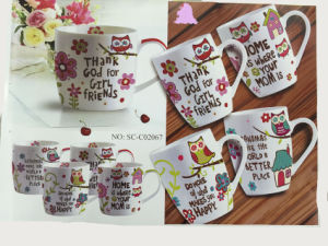 Cartoon Character Mugs for Children pictures & photos