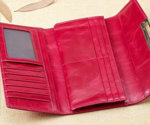 China New Trend Genuine Women Leather Wallet