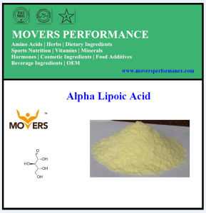 GMP Factory Supply Alpha Lipoic Acid/ Ala pictures & photos