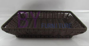 Hand Weaving Home Kitchen PE Vegetable and Fruit Tray