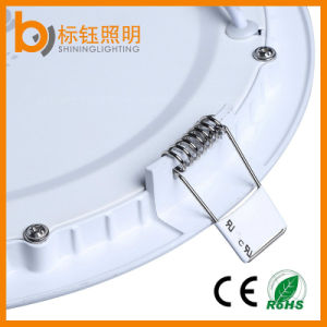 3W-24W Super Thin Round Flush-Mounted LED Panel Lighting (2700-6500K, CE RoHS FCC, 3 years warranty) pictures & photos